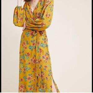 Faithfull the Brand Wrap Midi Dress